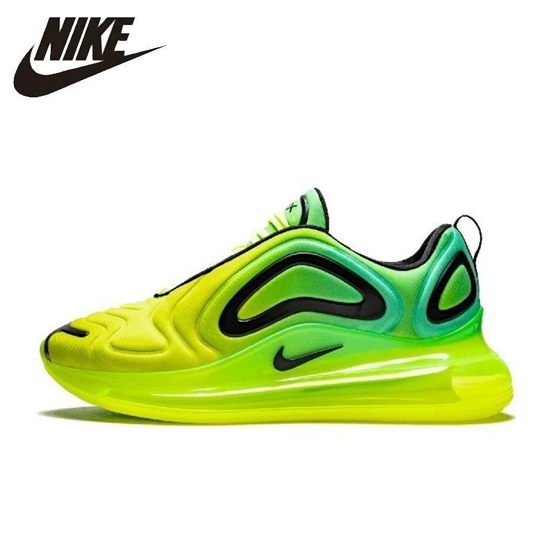 Nike air max 720 nova chegada homem tênis de corrida respirável esportes nova chegada almofada de ar sapatos masculinos # ao2924/ar9293
