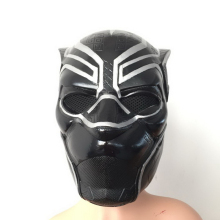 Black Panther Mask Adult Cosplay Superhero Costume For Halloween