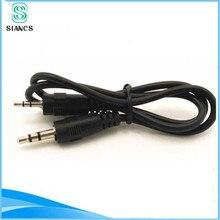 Mini 50 cm 0.5 m court 3.5mm Mâle à Mâle de voiture Aux Auxiliaire stéréo jack audio câble cordon 3.5mm à 3.5mm pour iphone pour samsung