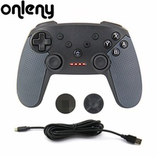 For Nintendo Switch Pro Bluetooth Gaming Gamepad Dual Motor Wireless Game Pad Joystick Game Controller For Switch