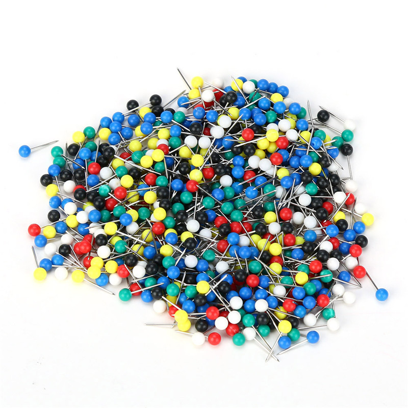 2018 500pcs Multi Color Fishing Pin for Fasten Fishing Line Winder Reel Spool Tackle Safety & Survival Z914