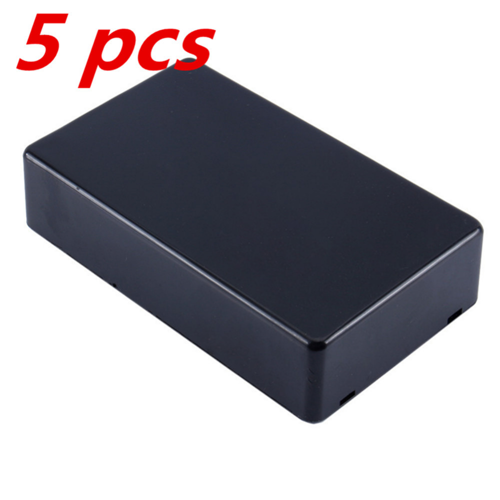5pcs lot new plastic electronic project box 100x60x25mm for Plastic doosjes