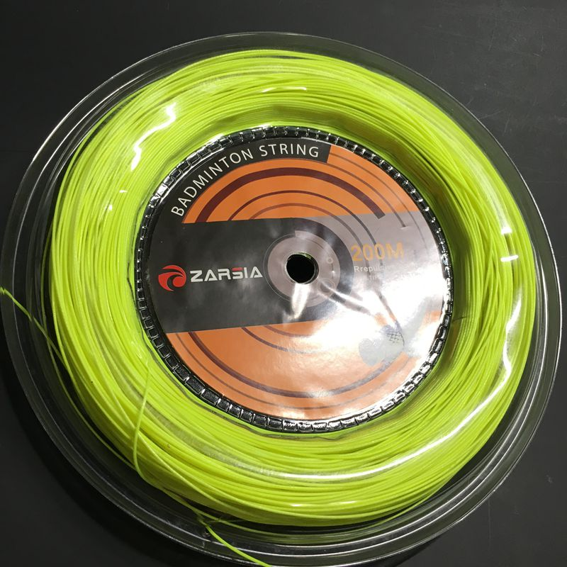 Penghantaran percuma (1 reel / lot) ZARSIA Badminton String Reel 200M badminton racket string