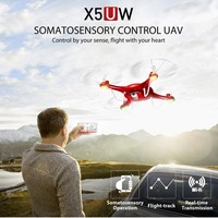 SYMA 2 4G 4CH RC Drone With WiFi HD Camera Real Time Transmission FPV Quadcopter Remote