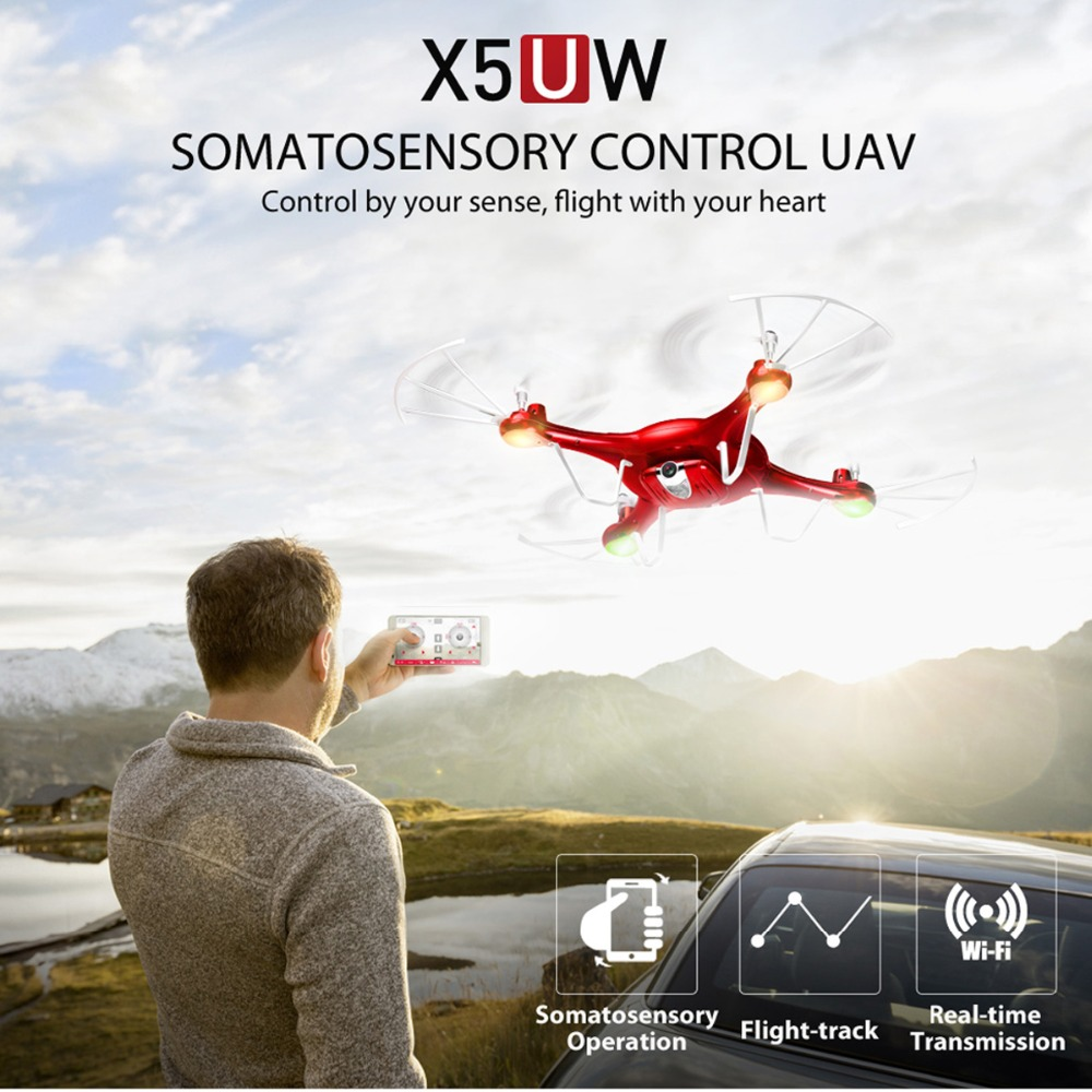 SYMA 2.4G 4CH RC Drone With WiFi HD Camera Real-time Transmission FPV Quadcopter Remote Control Dron Quadrocopter Kids Adult Toy jjrc h12c rc helicopter 2 4g 4ch rc quadcopter drone dron with hd camera vs x5sw x6sw mjx x101 x400 x800 x600 quadrocopter toys