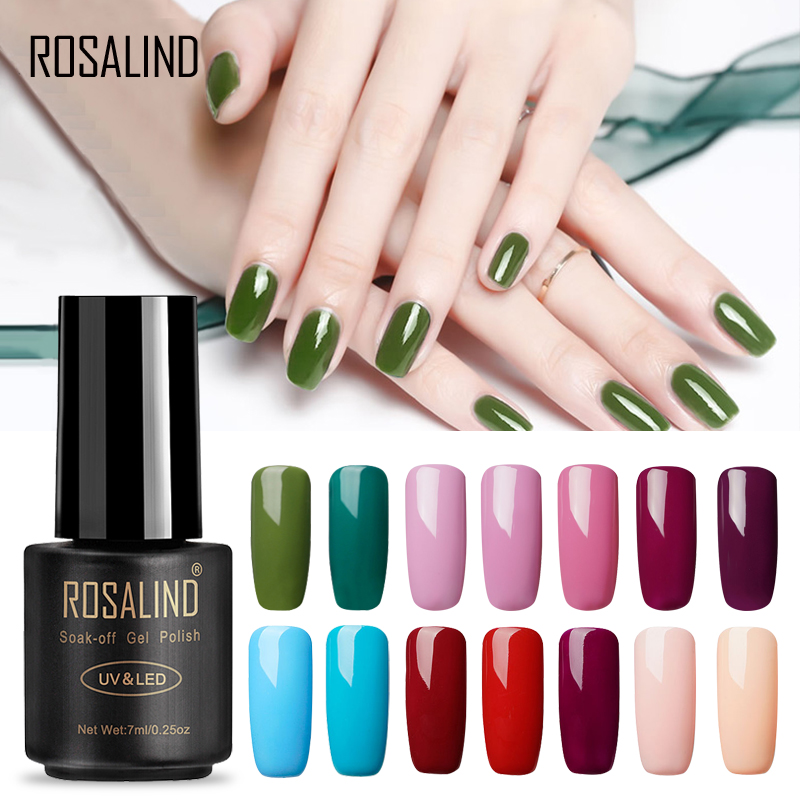 ROSALIND 7ML Classic Series Color Gel Nail Polish Acrylic