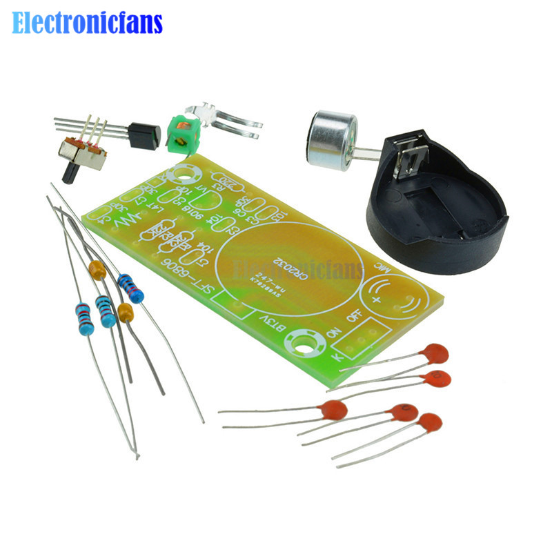 FM Frequency Modulation Wireless Microphone Module DIY Kit FM Transmitter Board Parts Simp