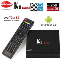 KII PRO DVB S2 T2 Android TV Box 2GB 16GB DVB T2 DVB S2 Android 5