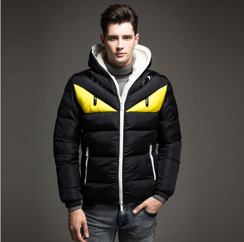 Подробнее о High Quality Winter Mens Jackets And Coats Fleece Hooded Casual Men clothing Male Thick Jacket down parka Free Shipping perfect 2016 winter mens down jackets men breathable thick coats spring cotton padded outwear casual male feather jacket uma303