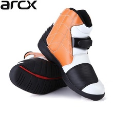 Free delivery 1pair ARCX New Men's actual leather-based Ankle Cowhide Leather Touring Biker Riding Motorcycle Boots