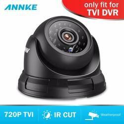Annke аналоговый Камера 1MP 3,6 мм HD ИК-фильтр DC12V Крытый Открытый IP66 Всепогодная защита дома CCTV Serveillance куполообразная камера