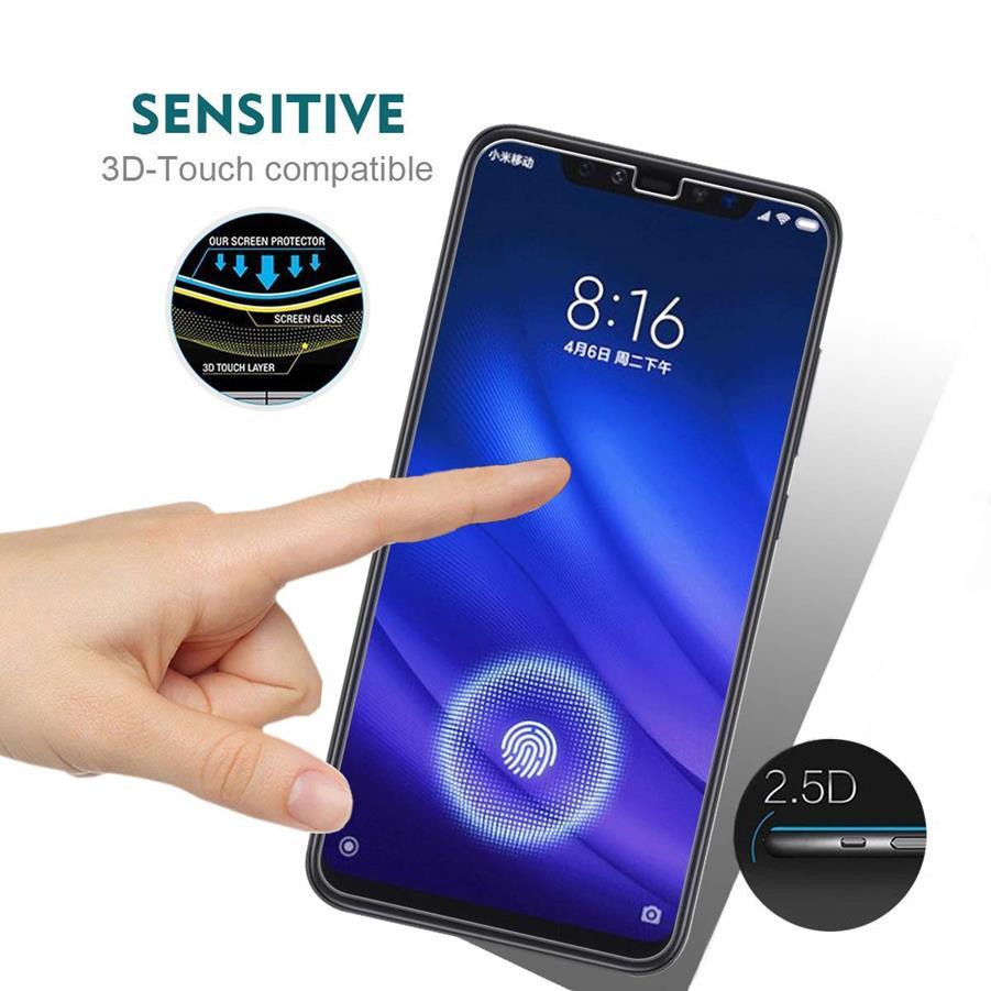 Não Completa Film Tampa para 7 Pro Vidro Protetor de Tela para Xiaomi Redmi Nota 6 9 8 A2 Lite Mix3 mix2S 9Se Ultra-fina e Transparente