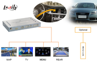 Multimedia Video Interface For 2009 2015 AUDI A4L A5 Q5 Support Support Navigation Rear Camera DVD