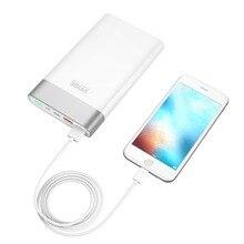 Vinsic 20000mAh Quick Charging3.0 Power Bank QC3.0 Dual USB Type-C Li-polymer External Battery For Samsung iPhone X 8 8P Xiaomi