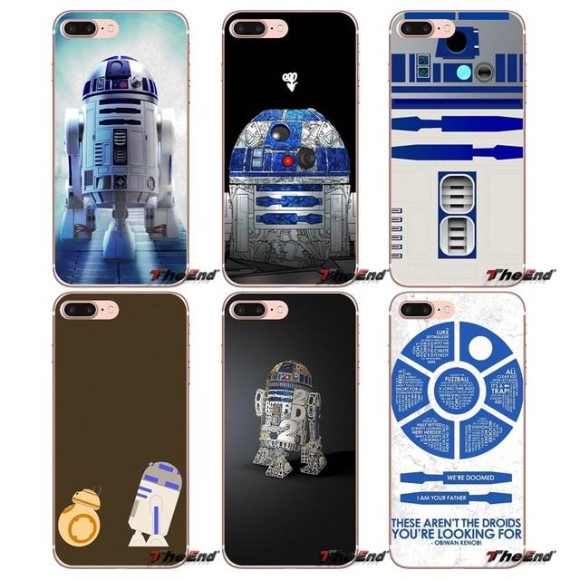 US $1 0  Fashion Star Wars R2D2 Robot Silicone Case For Apple iPhone X 4 4S  5 5S SE 5C 6 6S 7 8 Plus 6Plus 7plus 8plus Fundas Coque-in Half-wrapped