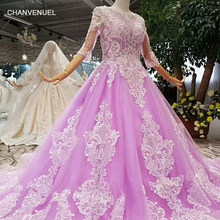 CHANVENUEL LS854111 light purple girls pageant prom dress