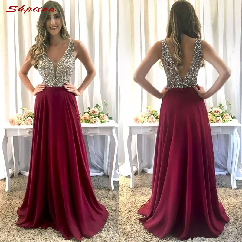 Luxury Mother of the Bride Dresses for Wedding Party Plus Size A Line Chiffon Evening Gowns