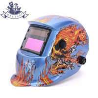 Auto Darkening Welding Helmet Welding Mask MIG MAG TIG Sensor Blue Color