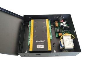 Image 4 - Marca 32 bit wiegand TCP IP de quatro Portas de Controle & caso de alimentação de 110 V/220 V apoio opção de software /web/smart phone/alarme de incêndio etc
