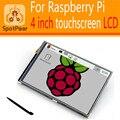 Raspberry Pi 3 модель B/2B/B +/+/B 4 дюймов IPS ЖК-Дисплей модуль 480*320 Сенсорный Экран