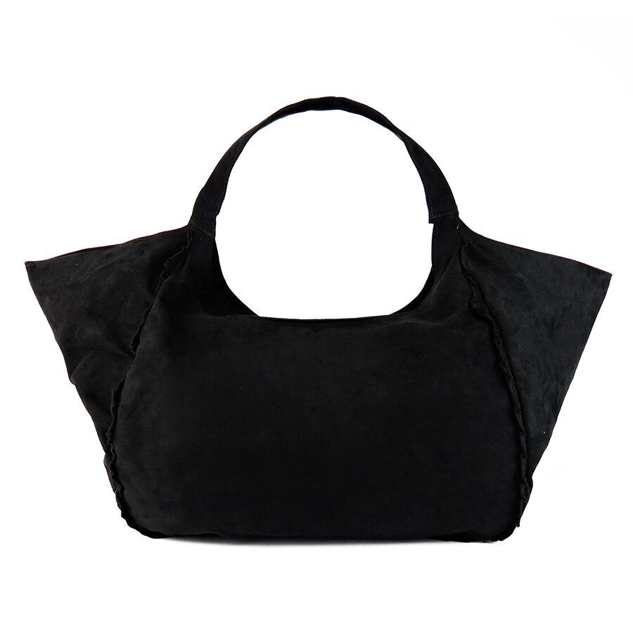 2017 New Women Shoulder Bags Female Faux Suede Handbags Capacity Las Black Tote Bag Large Bolsos Sac A Main In From