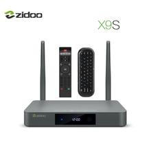 HDR ZIDOO X9S IPTV Media Player 4 K Cuadro de TV Android 6.0 Quad-Core CPU Decodificador HDMI 2.0 BT4.0 Wifi de banda Dual 2G + 16G Control Remoto IR