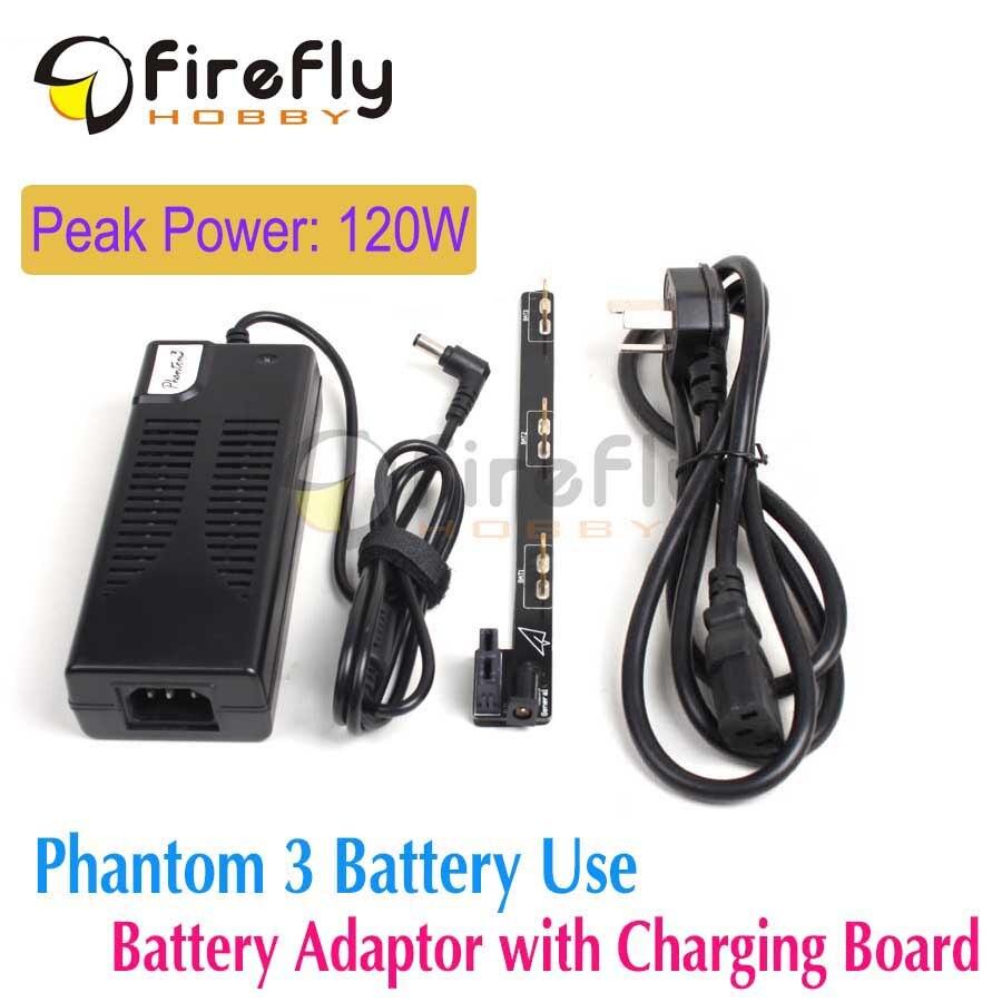 DJI Phantom 3 Peak Power 120W Power Adapter Battery Parallel Charger Board/ Plate DJI Phantom 3 Accessory