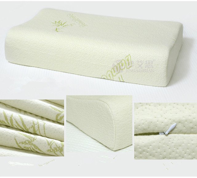 Luxury Design High Quality Bamboo Pillowcase for latex contour latex ...