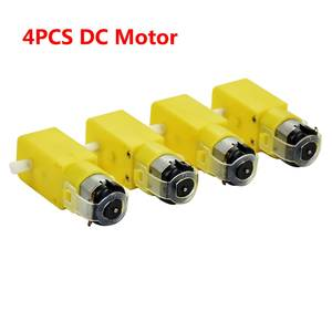 3V-6V Motor Prevent-Interference Arduino TT for Smart-Car/robot 4pieces/Lot Magnetic