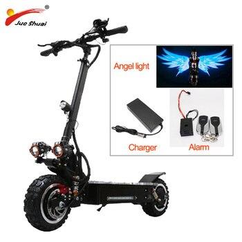 Patinete eléctrico todoterreno para adulto, Scooter plegable de 11 pulgadas, 80 KM/H, 60V, 3200w