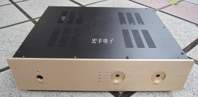 400*100*300 DIY New amplifier chassis/Tube amp chassis/Integrated Amplifier Chassis/Pre-amp chassis/ AMP Enclosure / case BOX case size 360 80 268mm bz3608a the new silver aluminum amplifier chassis pre amplifier chassis amp case enclosure box diy