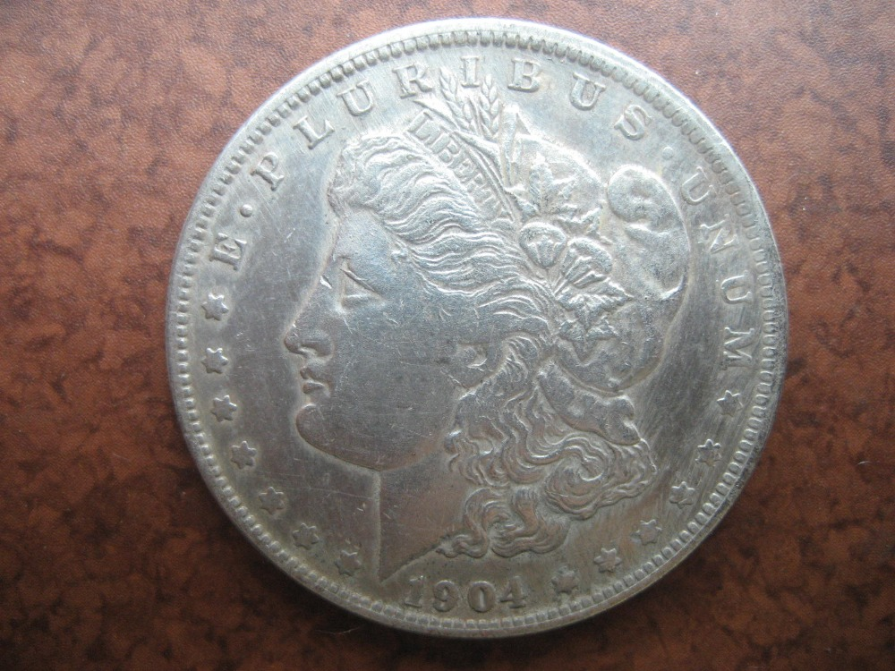 US  Morgan Dollar 1904-O COPY COIN