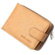 New 2019 PU Leather Men Wallets Card Holder Wallet Solid Sho