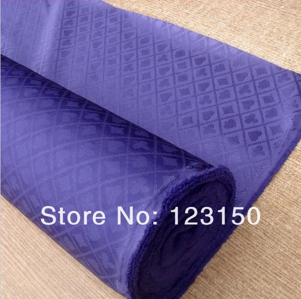 ZB 024 1.5M Purple Poker Table Waterproof Suited Speed Cloth, 1.5M