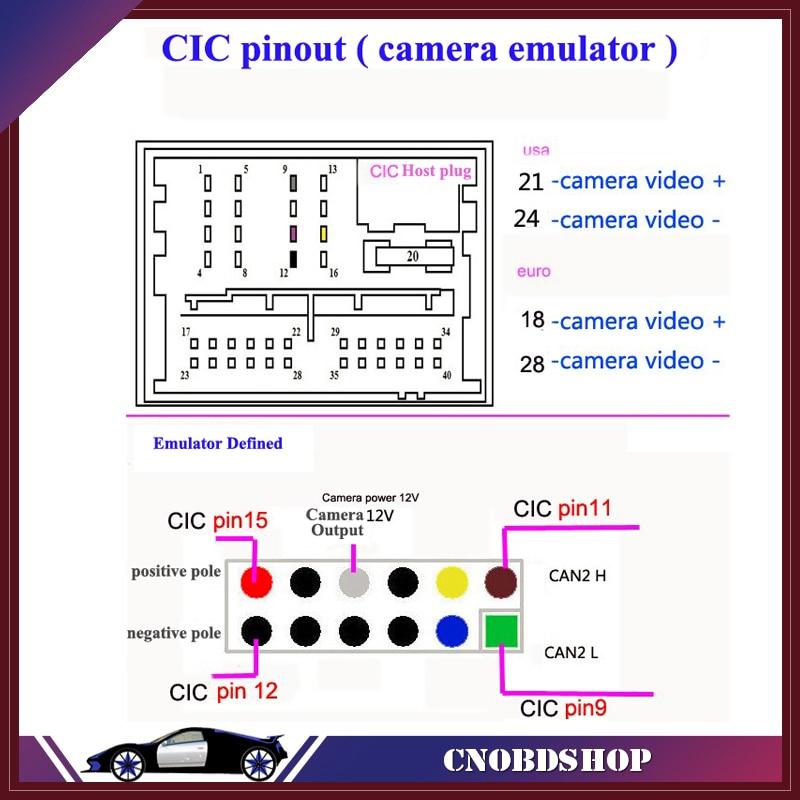 Aliexpress shipping reverse image Emulator / Rear View Camera ...