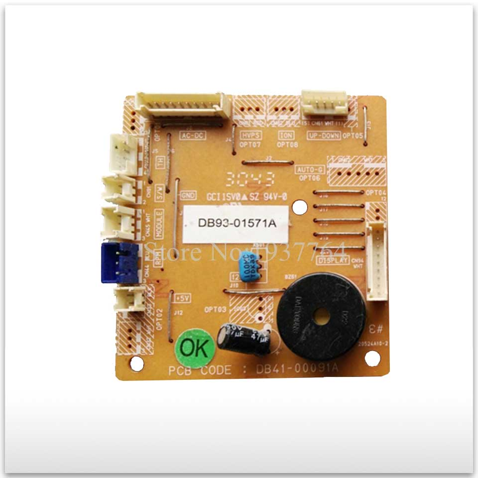 95% new for Air conditioning computer board circuit board DB41-00091A DB93-01571A DB93-01571B good working цена