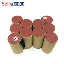 Батарея переупаковка пакет для Ryobi 12 В 4000 мАч BPN-1213> 1217 Ni-MH Sub C ячеек унций