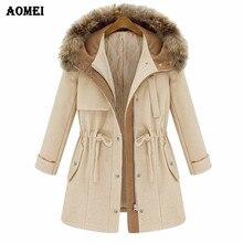 Желтое осенне-зимнее женское шерстяное пальто, верхняя одежда, Женский Тренч средней длины, милая элегантная повседневная куртка с меховым воротником, пальто