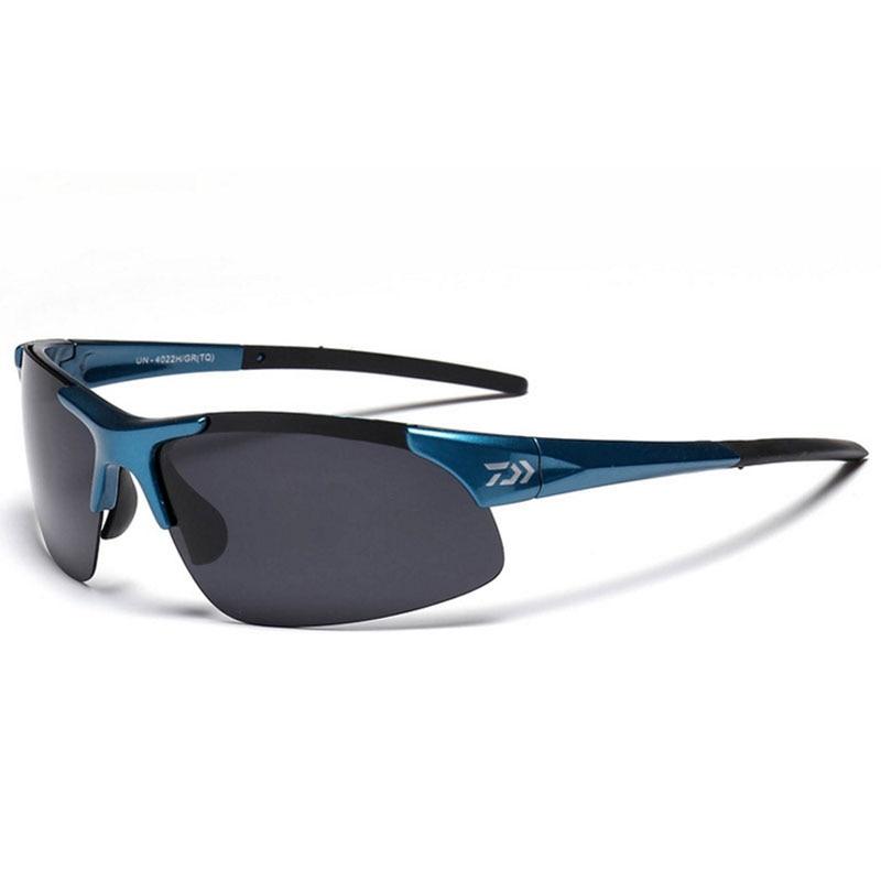 2018 nueva marca Daiwa gafas de pesca deporte al aire libre pesca gafas de sol hombres o mujeres pesca ciclismo escalada gafas de sol