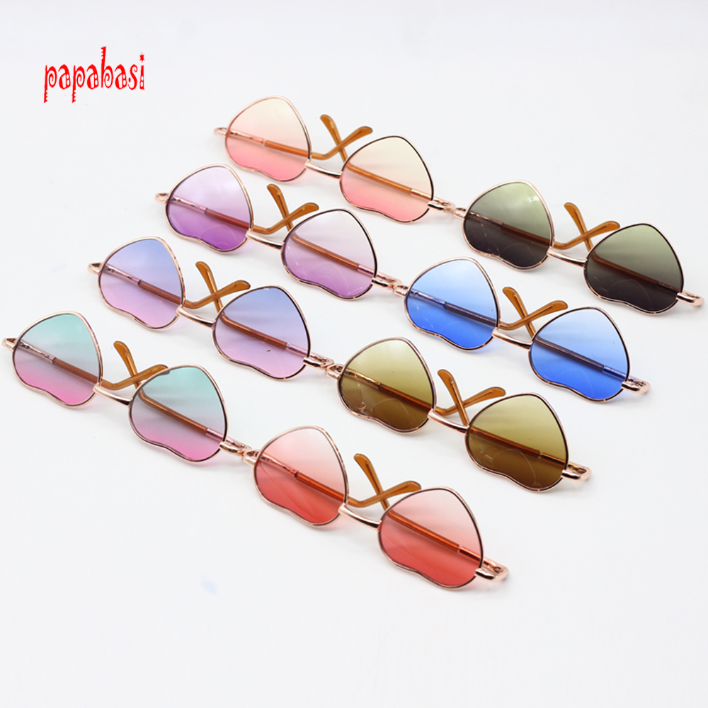 Have An Inquiring Mind 10cm Colorfull Heart Doll Sunglasses For 43cm Baby Dolls As For 16 Inch Sharon Doll Exo Dolls Glasses Accessories To Be Highly Praised And Appreciated By The Consuming Public Dolls & Stuffed Toys