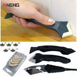 Heißer Verkauf 3 teile/los Mini Handgemachte Werkzeuge Schaber Utility Praktische Boden Reiniger Fliesen Reiniger Oberfläche Kleber Rest Schaufel