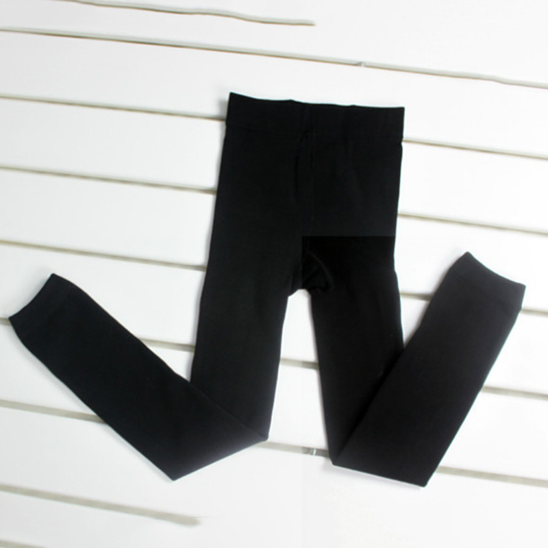 Fashion 3-9 Y Kids Girls Winter Warm Thick Fleece Leggings Lined Trousers Pants