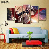 5 Panel Canvas Art JapanTokyo Ghoul Movie Poster Canvas Print Framed Wall Art Picture For Home