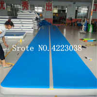 Free Shipping 8m Air Track, Tumbling Mat, Inflatable Gymnastics Airtrack Mat, Air Floor Mat with Electric Air Pump for Training