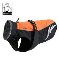 Truelove Waterproof Dog Winter Coat Vest Outdoor Reflective Walking Warm Pet Jacket Clothes For Large Small