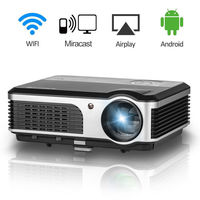 CAIWEI Wireless WIFI LCD LED Movie Projector Home Theater Cinema Support Full HD 1080P TV PC Video Projection Beamer