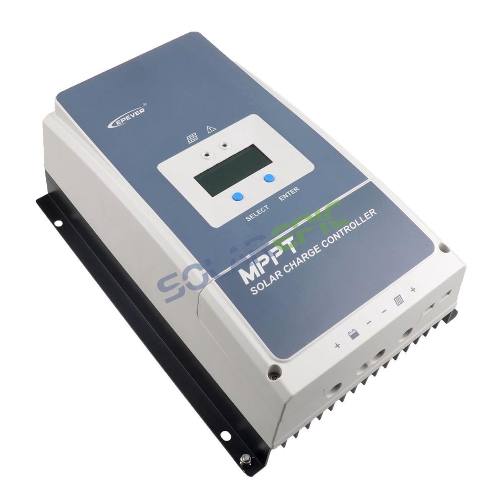 MPPT Controlador de Carga Solar Tracer UM 100A Epever 100A 12 V/24 V/36 V/48 V regulador de Energia da bateria Max PV 150 V de Entrada ou 200 V CE