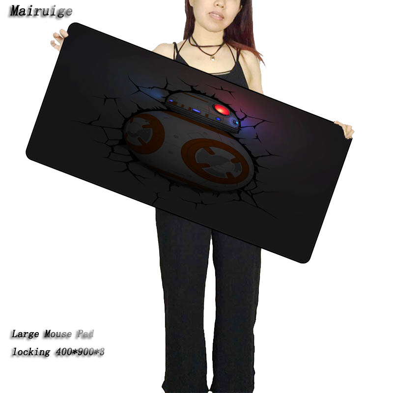Mairuige Star Wars BB Large Mouse Pad 900x400mm Pad To Mouse Notbook Computer Mousepad Best Smouse Mats for Cs Go  DOTA2 As Gift