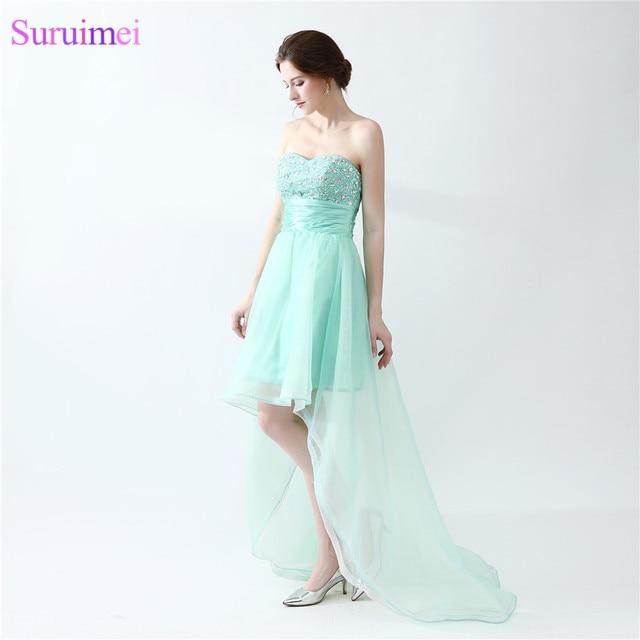 Aliexpress.com : Buy Mint Green Prom Dresses Beaded Sweetheart ...