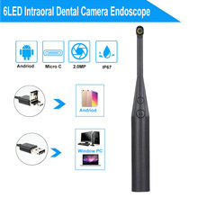 2MP Intraoral Dental Camera Endoscope 6LED USB Micro-check Inspection Oral Real-time стоимость